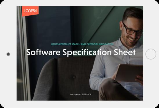 software spec sheet