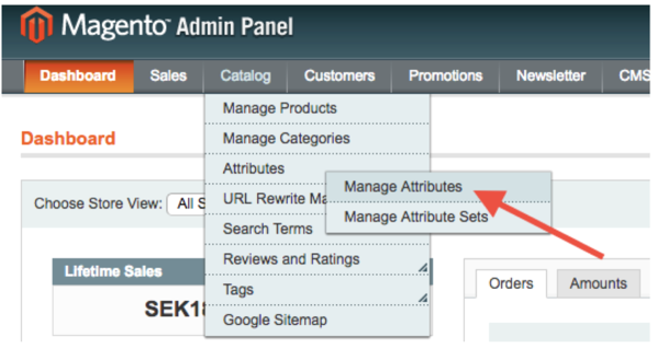 Magento 1 Admin panel